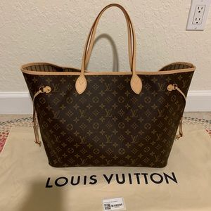Louis Vuitton 2019 Neverfull GM monogram tote NEW